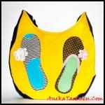 maika flat shoes, maika etnik, anekataslucu, tas remaja, tas wanita, tas kanvas, gambar tas, tas handmade
