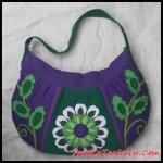 tas wanita, tas handmade, tas satchel, maika etnik, tas kanvas, anekataslucu, reseller maika