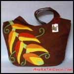 maika etnik heliconia, tas lucu, tas wanita, tas remaja, tas shoulder, tas handmade